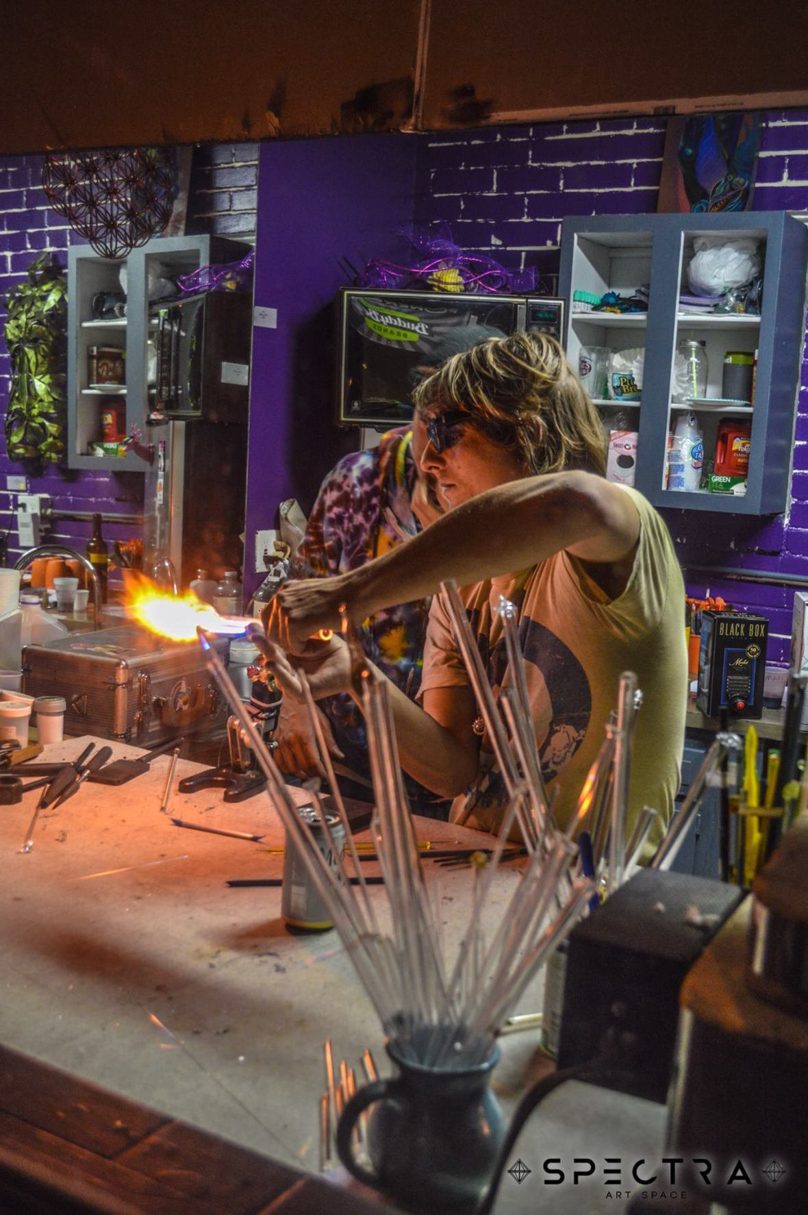 Spectra Art Space Glass Blowing