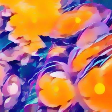 "Merhia Wiese - ""Orange Cream #9"""