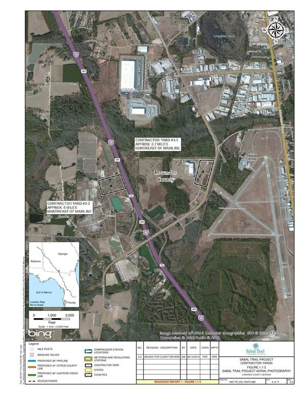 600x776 Lowndes County, GA, next to Valdosta Airport, in Sabal Trail Contractor Yards aerial maps, by John S. Quarterman, for SpectraBusters.org, 20 February 2015