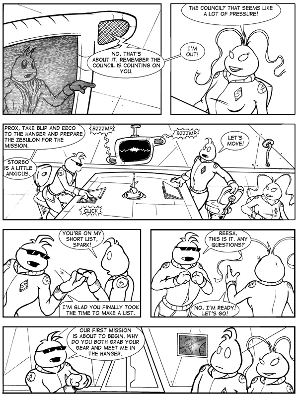 SPECTRE: A DARK MATTER - PAGE 12