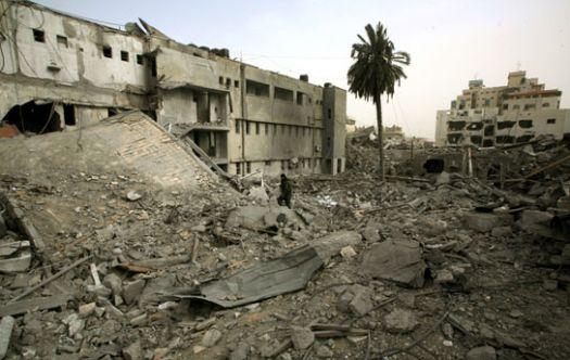 rubble-gaza-city