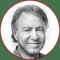 illustration of Ray Kurzweil