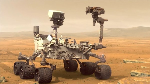 Video Friday: Curiosity Rover, Giant Crab Robot, and Drone ...