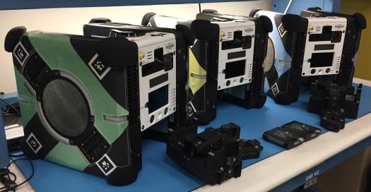 Astrobee robot family