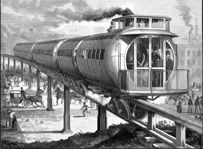 The Meigs Elevated Railway – 1886
