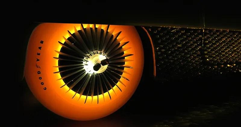 """""""Goodyear's Illuminated Tyres"""""""