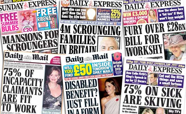 Image result for shirkers and scroungers