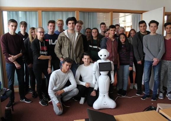 Robots op bezoek
