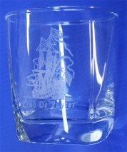 Logo Design & Whisky Glass Engrave