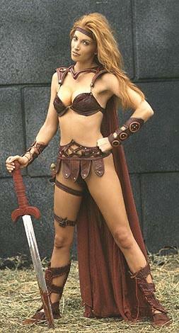 Angelica Bridges as Red Sonja