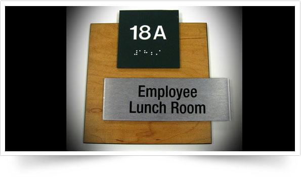 Interior Door Signage & Spectrum Signs \u0026 Designs » ADA Signage Engraving and Interior ...