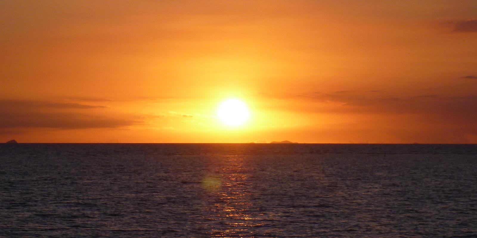 Spectrum TV sunset time lapse photo