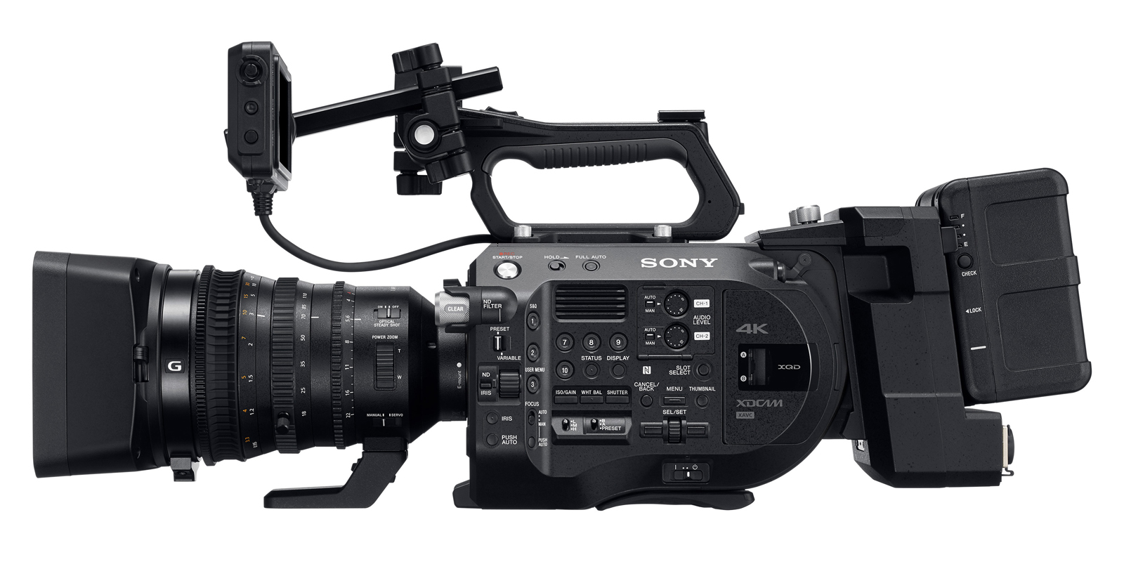 video camera equipment hire
