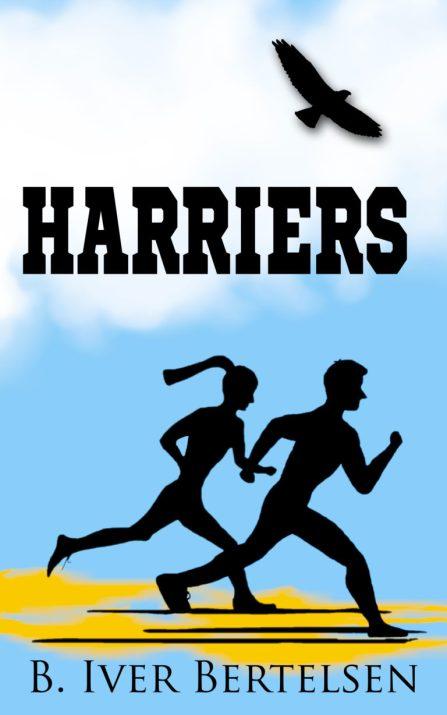 Harriers, B. Iver Bertelsen, cover design