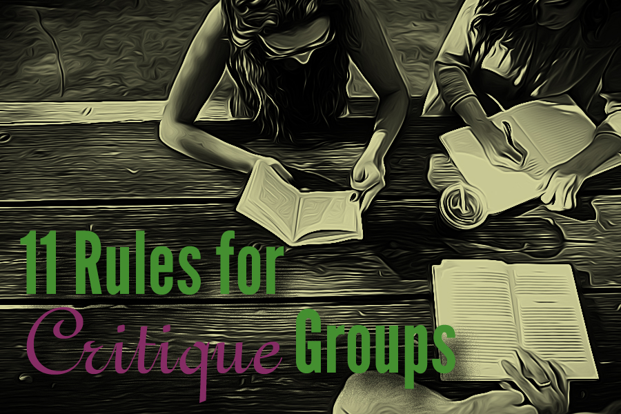critique group rules, critique group