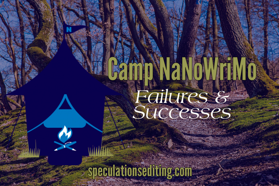 My 2017 Camp NaNoWriMo Experience: Failures & Successes