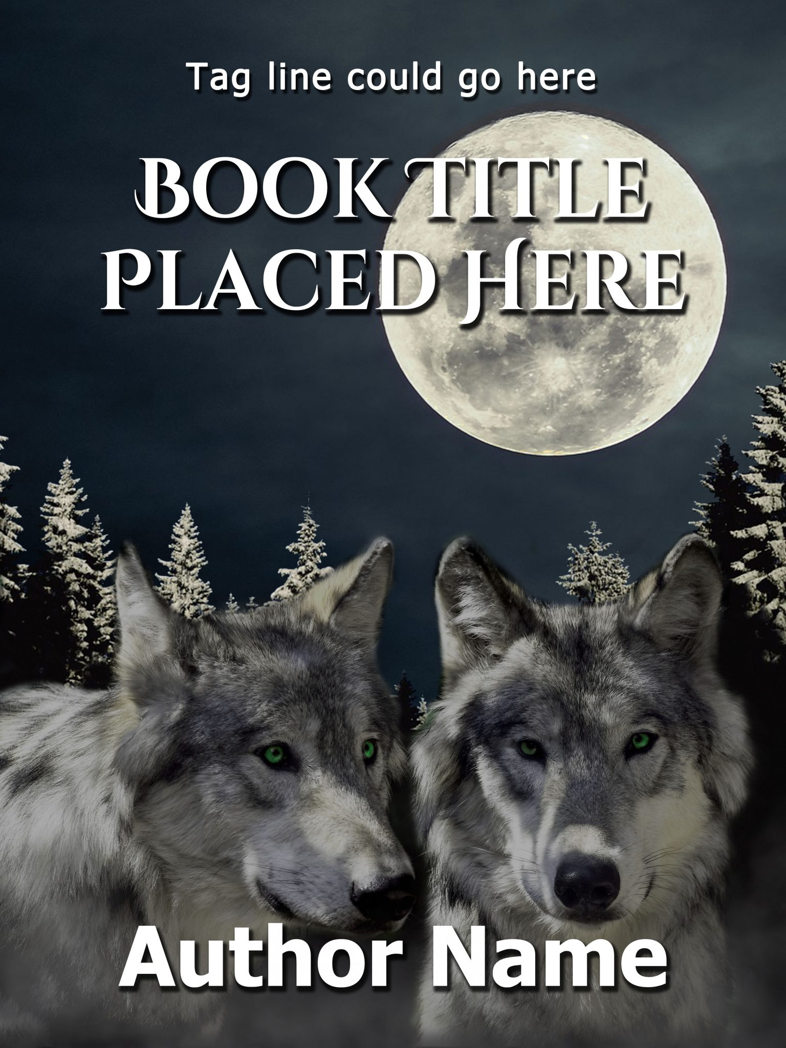 Wolf Brothers Premade Book Cover