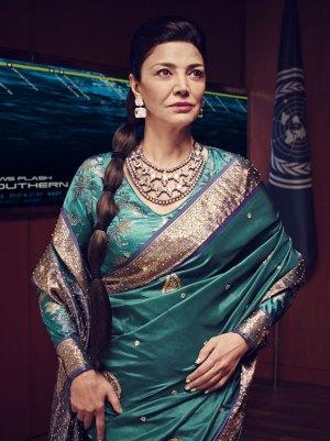 Shohreh Aghdashloo as Chrisjen Avasarala, courtest of SyFy