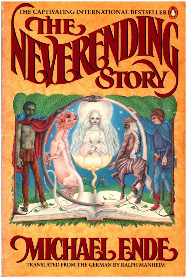 The Neverending Story book by Michael Ende