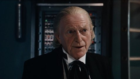 David Bradley (playing Hartnell's first Doctor)