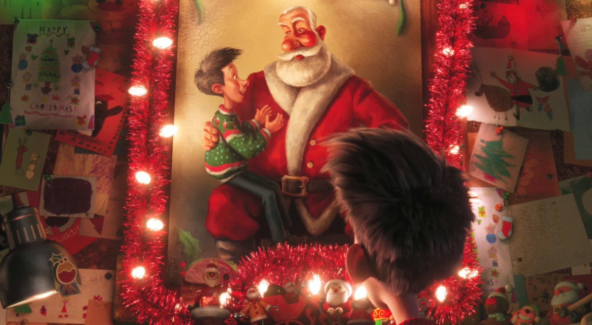 Speculative Faith Reviews Arthur Christmas Sci Fi Santa