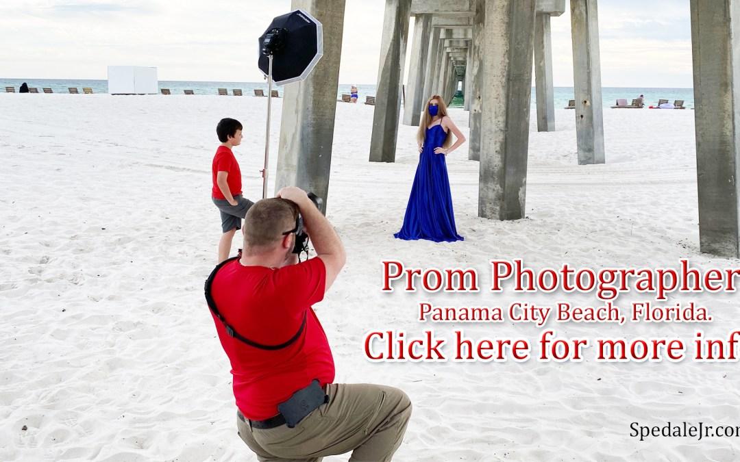 Prom Photographer in Panama City Beach, Florida.