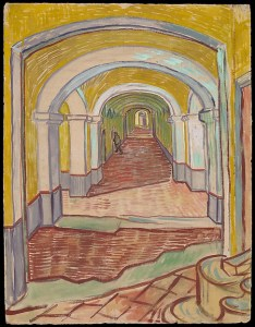 Vincent van Gogh: Corridor in the Asylum