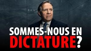 SOMMES-NOUS EN DICTATURE? ANALYSE DE LA SITUATION