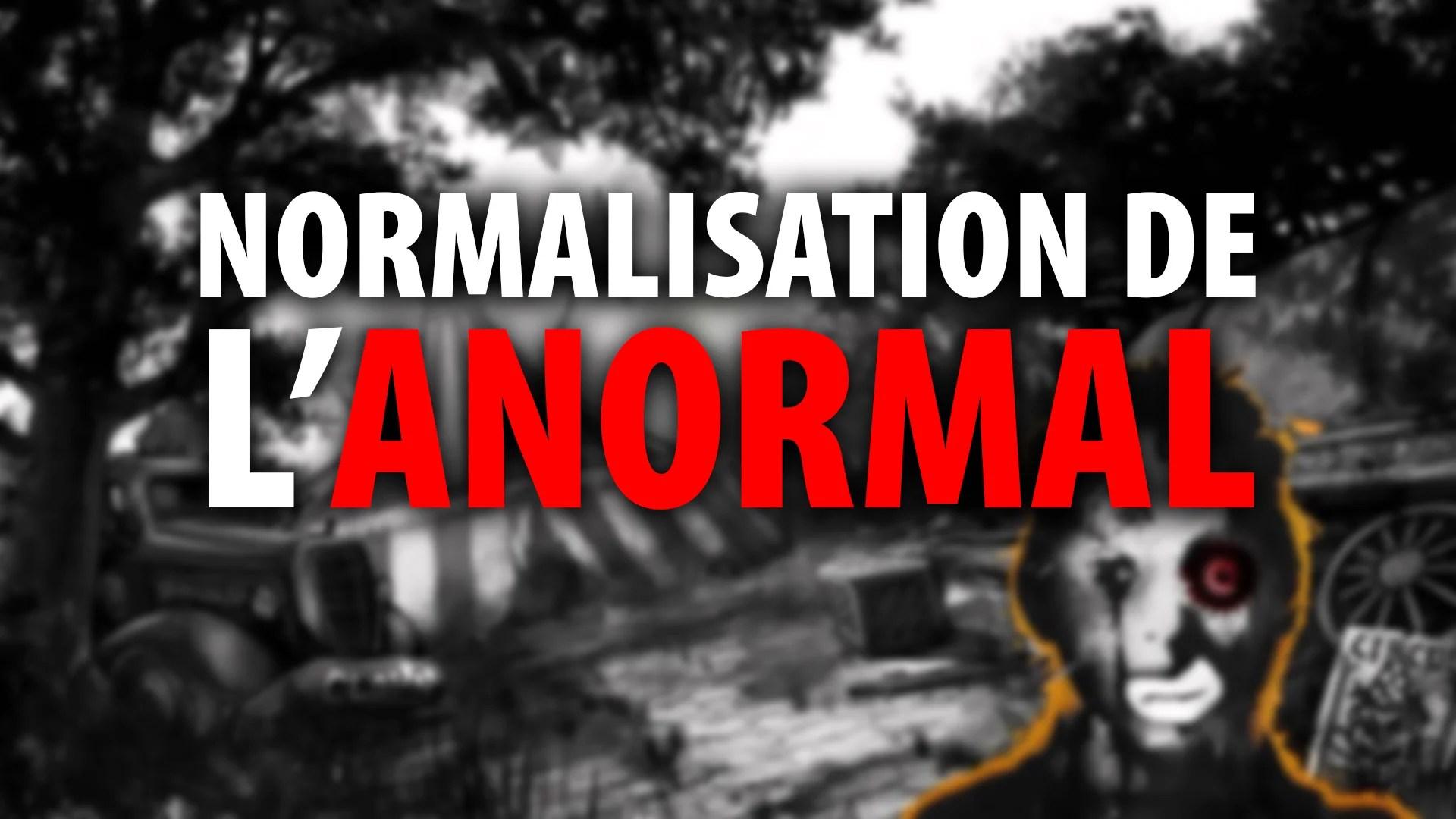 ANDRÉ PITRE SHOW – NORMALISATION DE L'ANORMAL