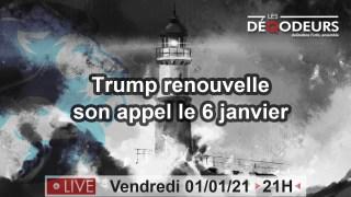 LE MONDE VA CHANGER !!! Part3-l'appel du 6 janvier(live du 1er janvier)