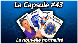 La Capsule #43 – La nouvelle normalité