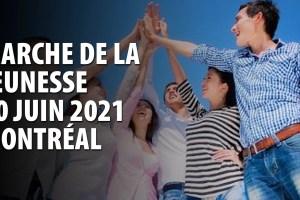 MARCHE DE LA JEUNESSE POUR LE DÉBAT PUBLIC