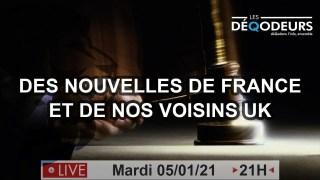 Pre-Révélations… On y arrive ! Partie 2: des nouvelles de France et de nos voisins Anglais