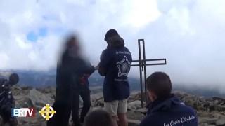 """Pyrénées-Orientales : des militants nationalistes accomplissent la mission """"Croix citadelles"""""""