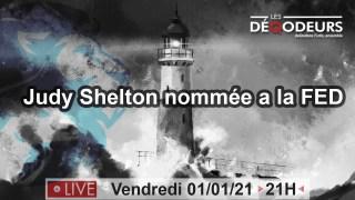 LE MONDE VA CHANGER !!! Part6-Judy Shelton et la banque federale(live du 1er janvier)