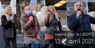 Genève pour la LIBERTÉ 🕊 avec Astrid Stuckelberger, Jean-Dominique Michel, Daniel Kunzi et Chloé Frammery 13.04.21