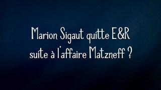 Alain Soral – Marion Sigaut quitte E&R suite à l'affaire Matzneff ?