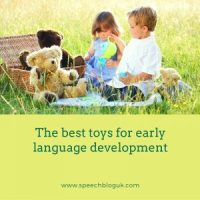 The best toys for early language development