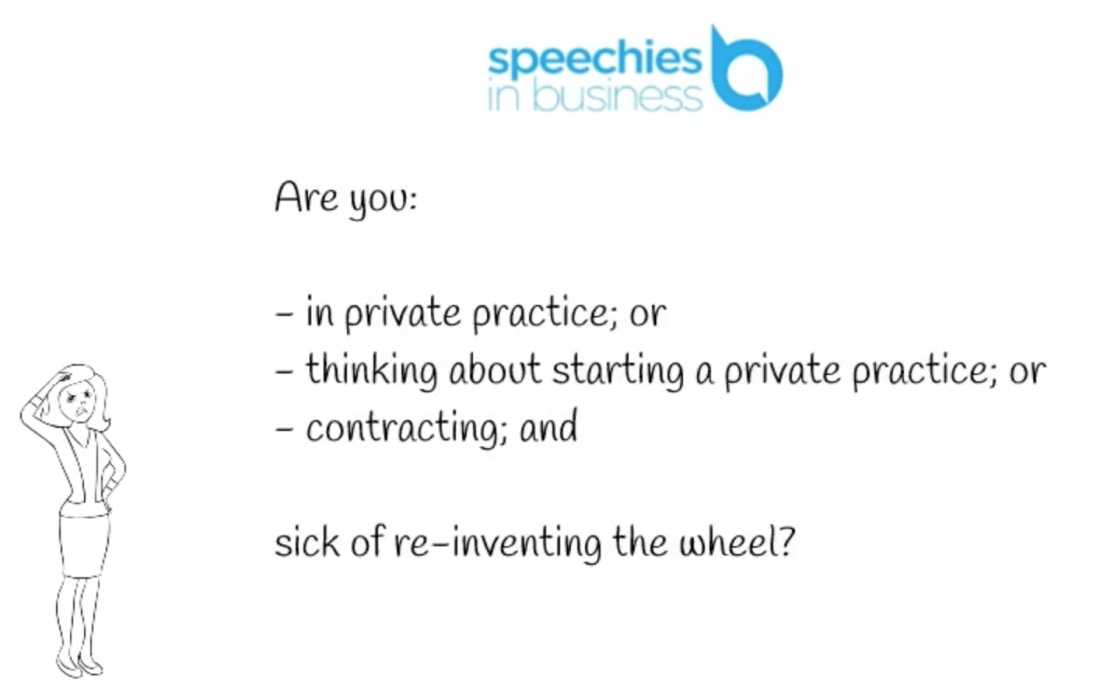 Speechies in Business Why Us?