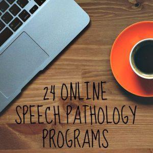 online speech pathology programs