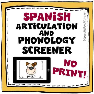 Spanish Articulation and Phonology Screener