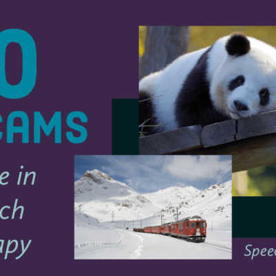 20 Live Cams to Use in Speech Therapy