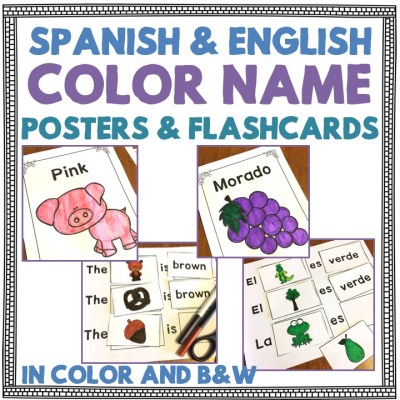 Learning Color Names in English and Spanish – Flagging a Learning Disability