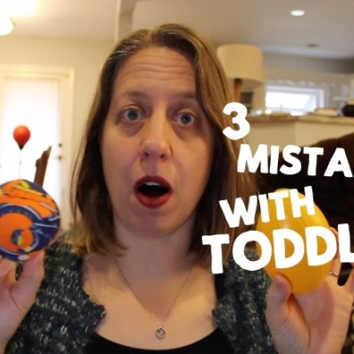 3 Mistakes Adults Make in Toddler Speech Therapy