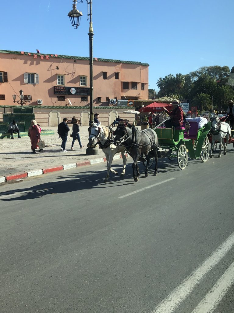 Transport in Marrakesch