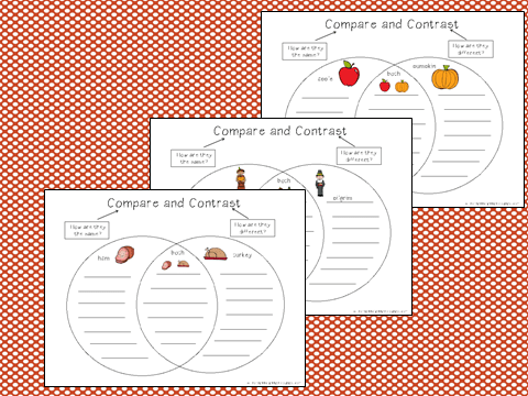 comparing and contrasting blogs Common core- how to compare and contrast in grade through elementary school, readers will learn to compare and contrast within and.