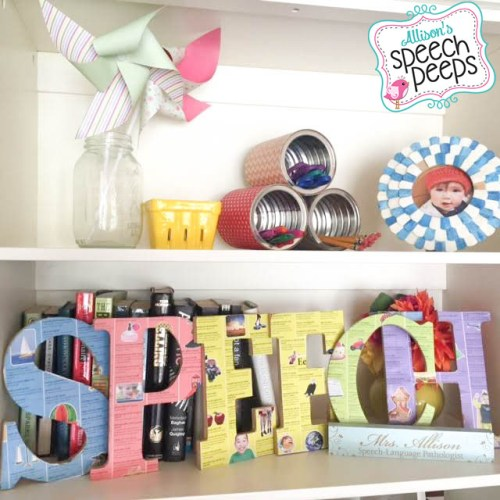 Easy & Fun SPEECH Sign for under $10