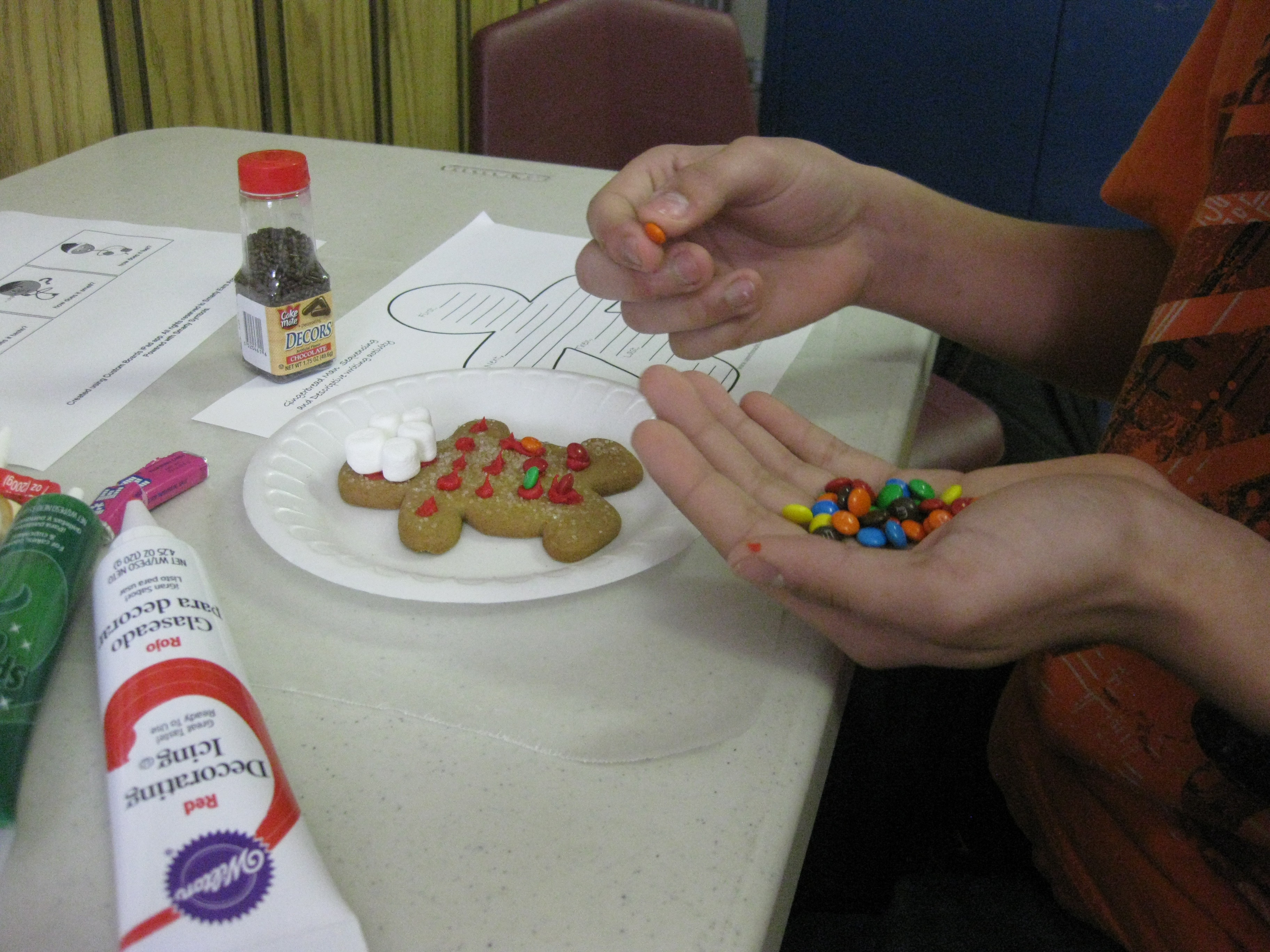Using Gingerbread Man Cookies To Teach Language Skills
