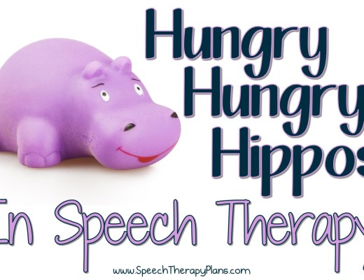 Hungry Hungry Hippos In Speech Therapy
