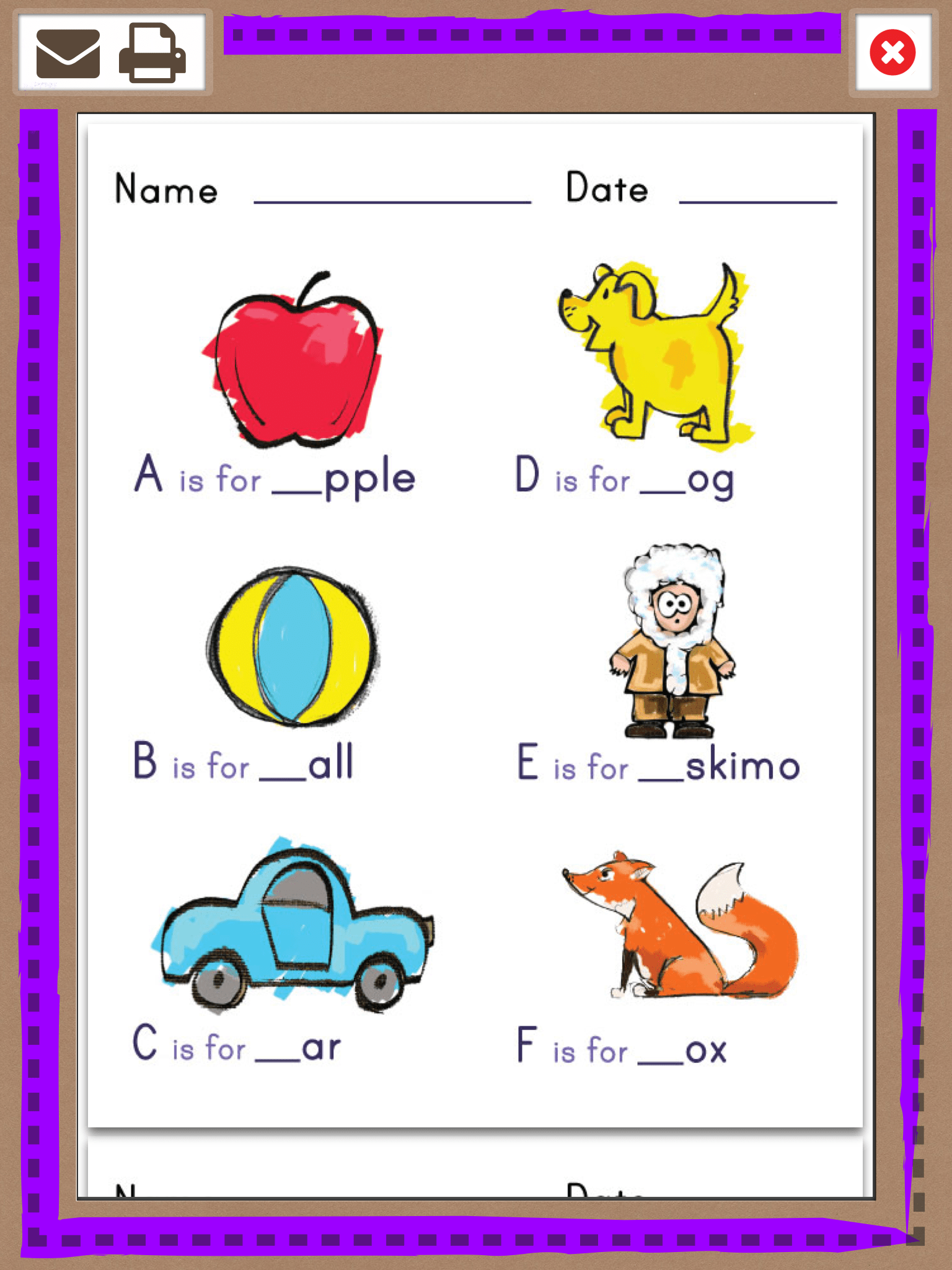 Abc Letter Learning App Review
